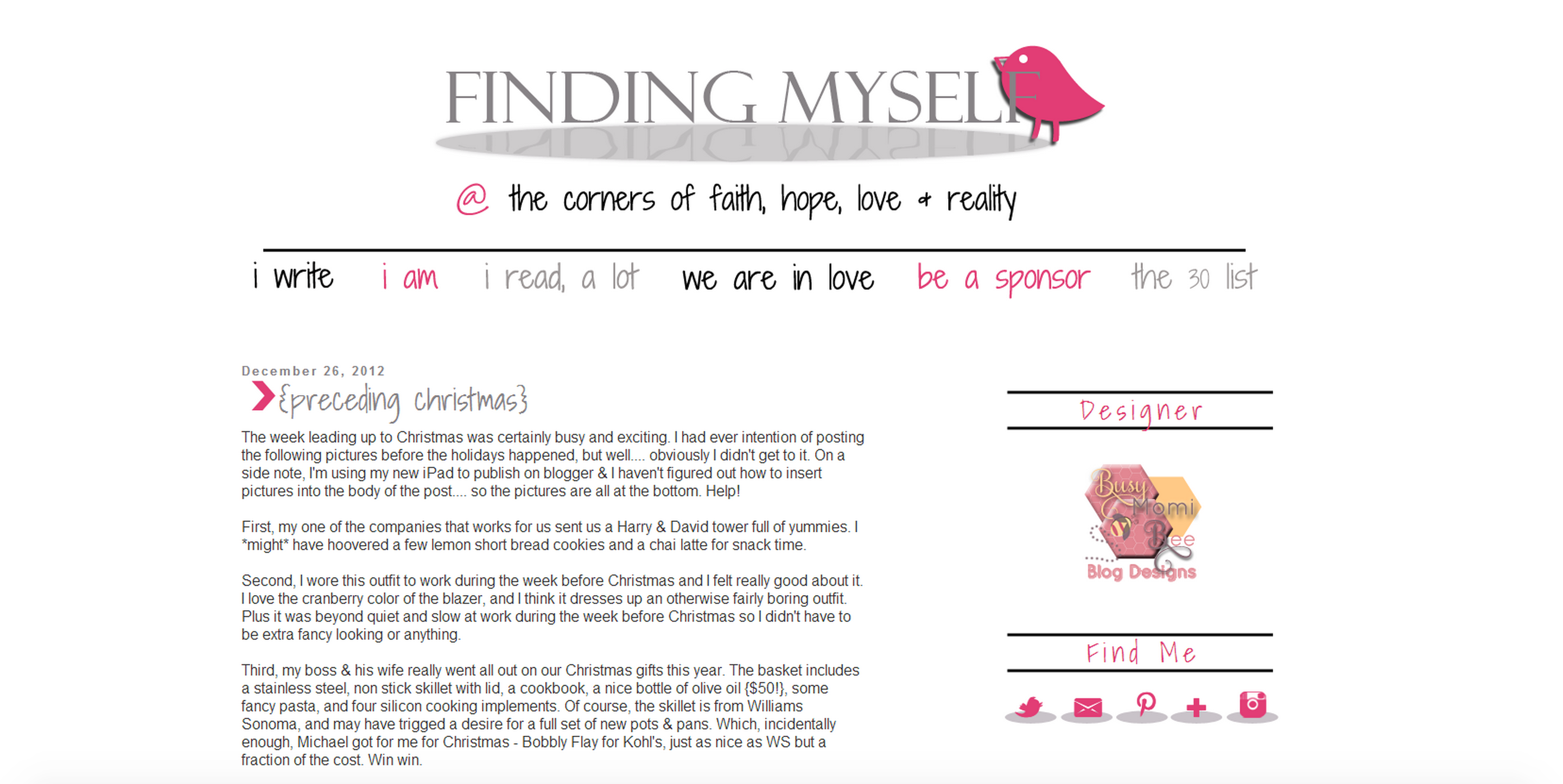 Custom Blogger Design by Shawberry Themes