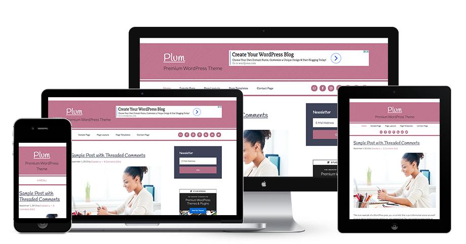 Plum – Premium WordPress Theme