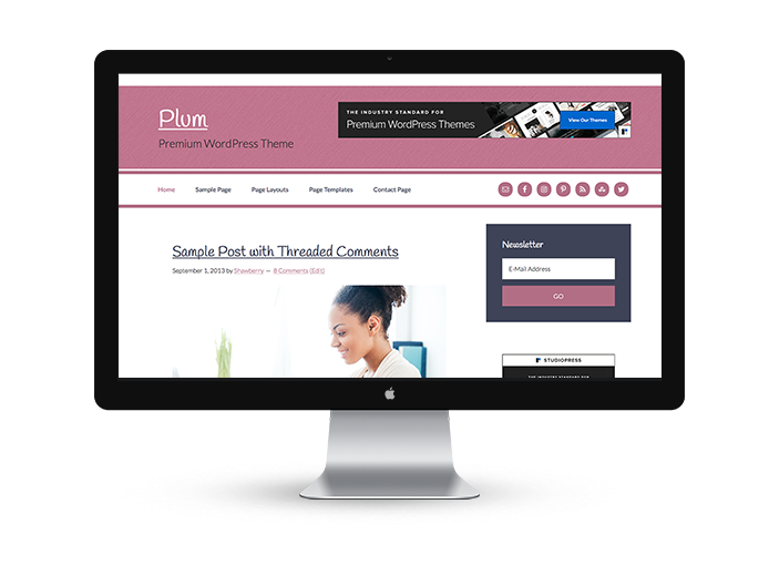 Plum - Premium WordPress Theme