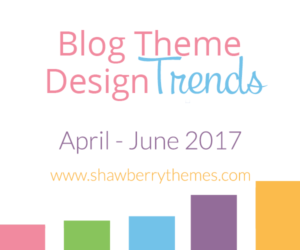 Quarterly Blog Theme Design Trend Report (Q2): WordPress Themes
